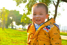 Children grow up happily in the sun Stock Photography
