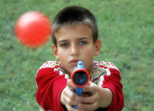 Children gun Royalty Free Stock Photos