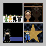 Children Halloween Backgrounds Royalty Free Stock Photos