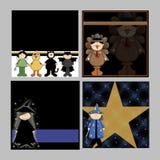 Children Halloween Backgrounds Royalty Free Stock Photos