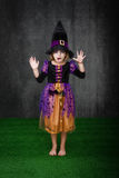 Children halloween fear Royalty Free Stock Photos