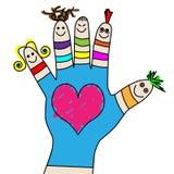 Children hand Royalty Free Stock Photos