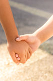 Children Hand in Hand Friendship Concept Stock Photo