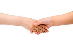 Children hands Stock Images