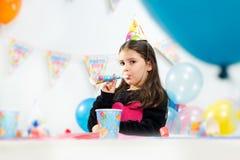 Children happy birthday party Stock Photos