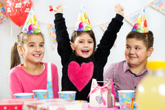 Children happy birthday party Royalty Free Stock Photo
