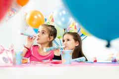 Children happy birthday party Royalty Free Stock Photos