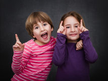 Children happy Royalty Free Stock Photo