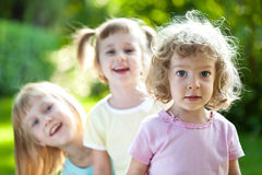 Children having fun Royalty Free Stock Photo