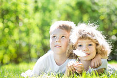 Children having fun Royalty Free Stock Images