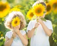 Children having fun Stock Image
