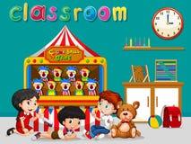 Children having fun in the classroom Stock Photos