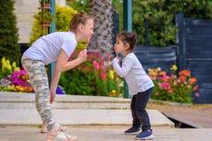 Children Having Fun. stock photos