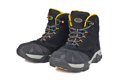 Children hiking boots Royalty Free Stock Photography