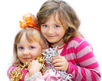 Children on holiday. Stock Images