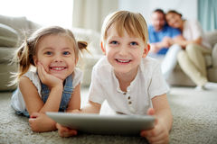Children at home Royalty Free Stock Images