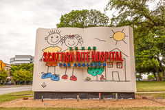 Children Hospital in Dallas, Texas Royalty Free Stock Photos