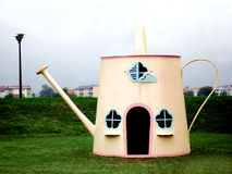 Children house. Children play house in the garden Stock Image