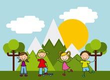 Children icon design. Vector illustration eps10 graphic Stock Photo