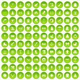 100 children icons set green. 100 children icons set in green circle isolated on white vectr illustration vector illustration