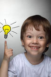 Children idea Stock Photo