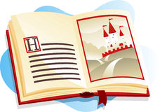 Children illustrated book Royalty Free Stock Image