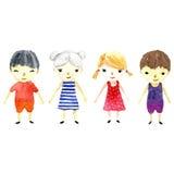Children illustration. Royalty Free Stock Image