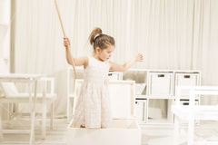Children imagination or creativity concept Royalty Free Stock Photography