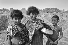 Children in India Royalty Free Stock Images