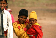 Children in India Royalty Free Stock Photos