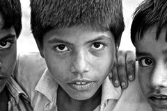 Children of India Stock Images