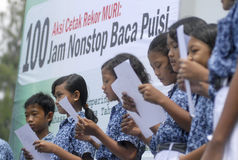 CHILDREN OF INDONESIA POPULATION Stock Photography