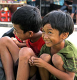 CHILDREN IN INDONESIA Stock Photo