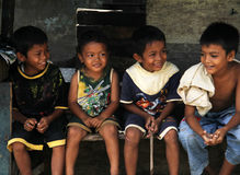 CHILDREN IN INDONESIA Stock Photography