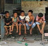 CHILDREN IN INDONESIA Royalty Free Stock Image