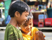 CHILDREN IN INDONESIA Royalty Free Stock Photography