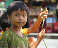 CHILDREN IN INDONESIA Stock Images