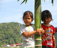 CHILDREN IN INDONESIA Royalty Free Stock Photo