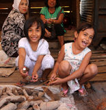CHILDREN IN INDONESIA Royalty Free Stock Images