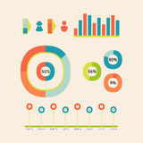 Children infographic Royalty Free Stock Images