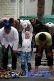 CHILDREN ISLAM Stock Photo