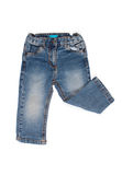 Children jeans trousers  Royalty Free Stock Image