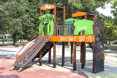 Children jungle gym Royalty Free Stock Images