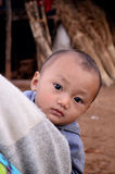 Children of Karen villager in poverty village. Royalty Free Stock Photography
