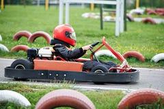 Children karting Stock Images
