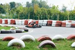 Children karting Stock Photos