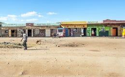 Children in kenya village Royalty Free Stock Photos