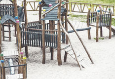 Children kid playground for leisure and recreation activity Stock Image
