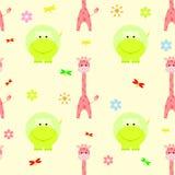 Children kid seamless pattern Stock Image