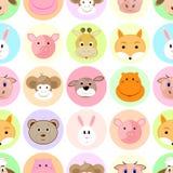 Children kid seamless pattern Stock Photos